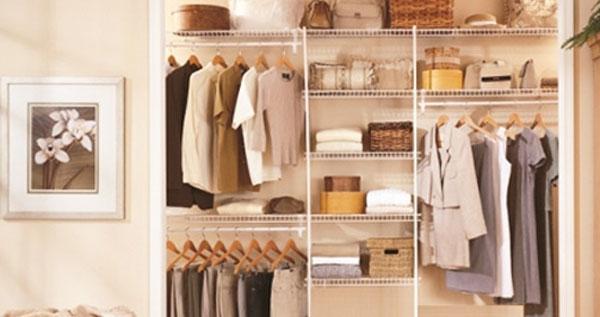 Organizador de closet en metal a la medida instalaci n for Organizadores para closet