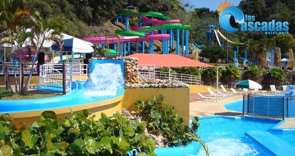 Las cascadas water park en aguadilla pase de un d a for Hotel cielo mar ofertas familiares